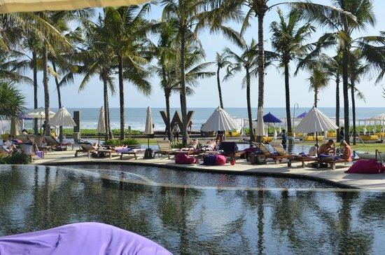 W Retreat & Spa Bali - Seminyak: Pool view