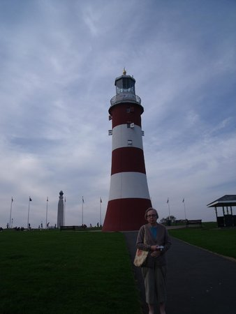 New Continental Hotel: The lighthouse on the Hoe