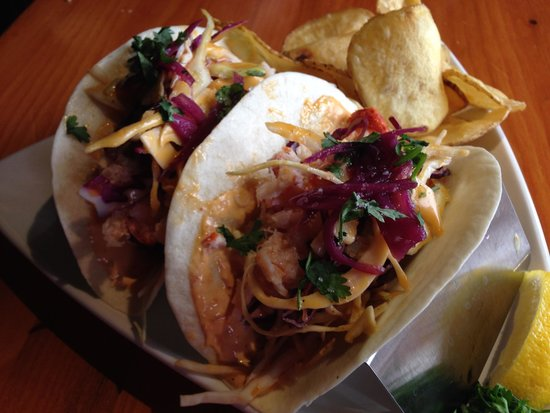 Old Fish Factory Restaurant: Lobster Tacos