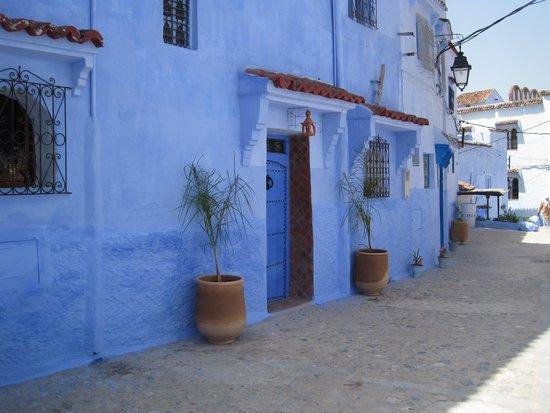 Hotel Koutoubia: Douceur bleue de Chefchaouen