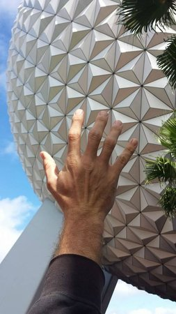 Epcot: Spaceship EARTH, just like Space Mountain, only really slow and educational