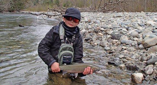 Pemberton Fish Finder: fly fishing