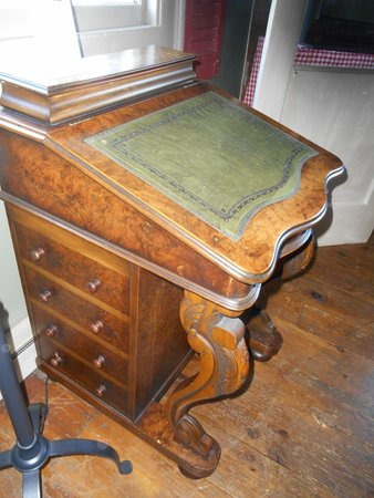Inn by the Bandstand: some fine antiques like this desk