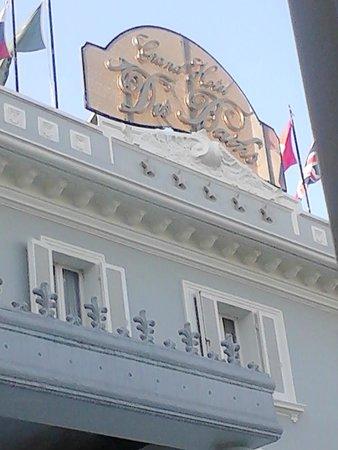 Grand Hotel Des Bains : insegna