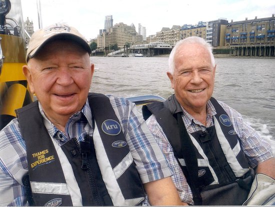 Thames RIB Experience: The Two of us