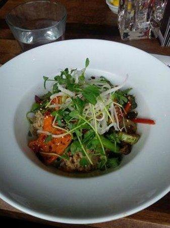 Cactus Club Cafe: Szechuan Salmon Rice Bowl