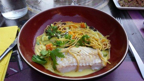 8 M des Monts : Curry de légumes delicieux