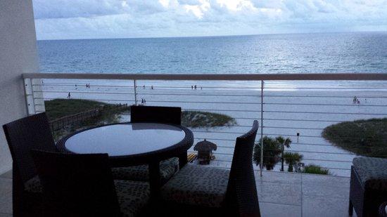Hyatt Residence Club Sarasota, Siesta Key Beach: Balcony in unit 607