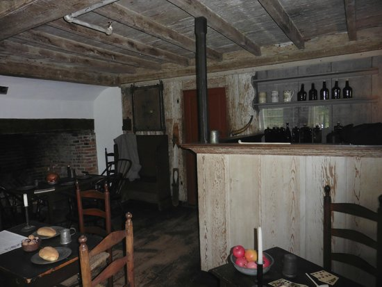 Interior of Buckman Tavern, Lexington, MA