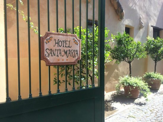Hotel Santa Maria : Entrance