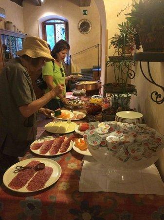 Hotel Santa Maria: Breakfast