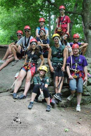 Hocking Hills Canopy Tours : Post-zip photo