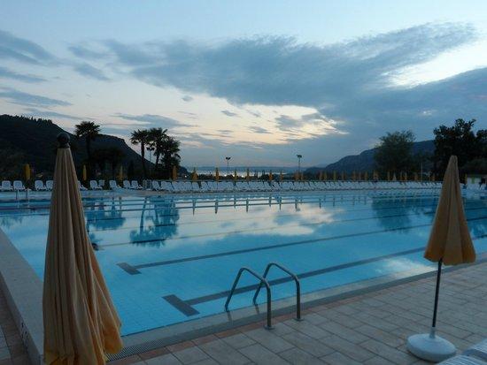 Poiano Resort Appartamenti: View over pool