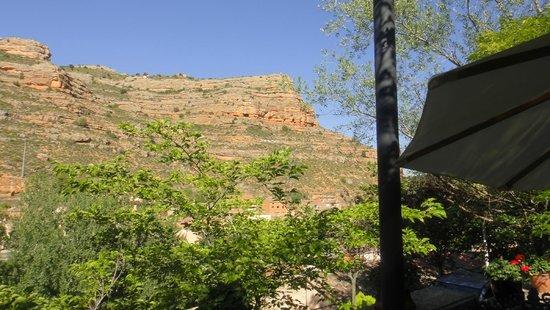 Castillo de Somaen: Vue de la terrace