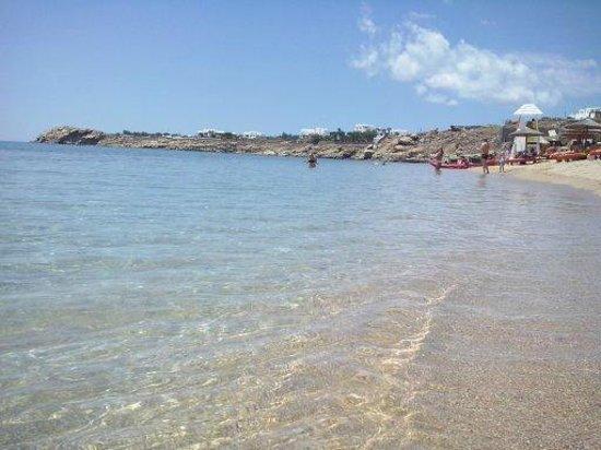 Mykonos Ammos Hotel: Praia de Ornos