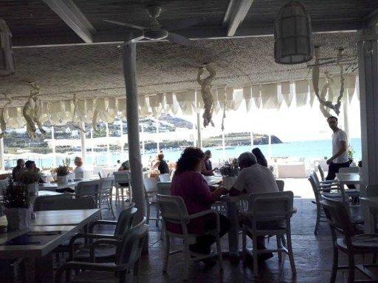 Mykonos Ammos Hotel: Café da manhã