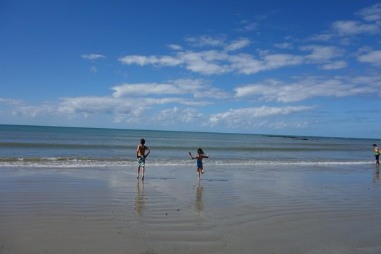 Cape Tribulation Beach House: gorgeous beach