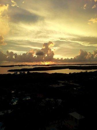 Hyatt Regency Coconut Point Resort and Spa: Sunset from our balcony