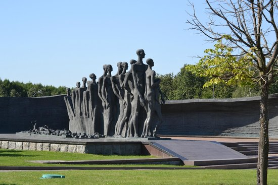 Holocaust memorial in Victory Park