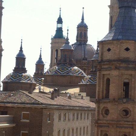 Linda!! - Picture of Basilica de Nuestra Senora del Pilar, Zaragoza - TripAdv...