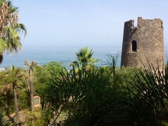Kempinski Hotel Bahía: view from room balcony