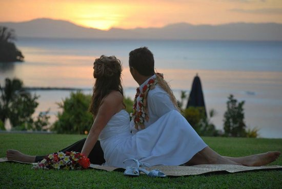 Taveuni Island Resort & Spa: Clifftop wedding