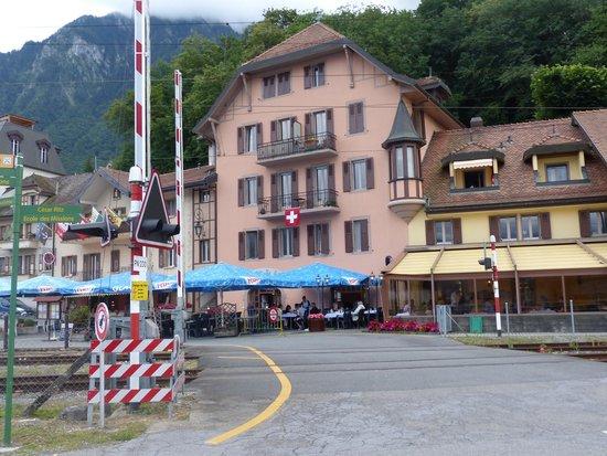 Lac Leman: photo de la Suisse.