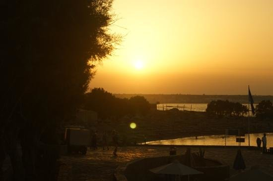 Nana Beach Hotel: amazing sunset
