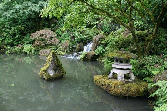 Portland Japanese Garden : Garden