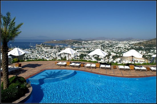 The Marmara, Bodrum : pool view