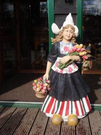 Zaanse Schans : tulip lady