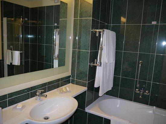 Hilton Garden Inn Rome Airport: ванная