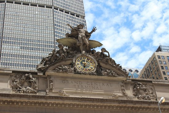 Grand Central Terminal: Fine craftsmanship