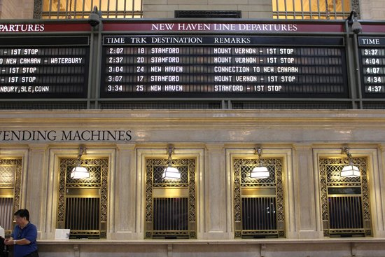 Grand Central Terminal: Ticket booths
