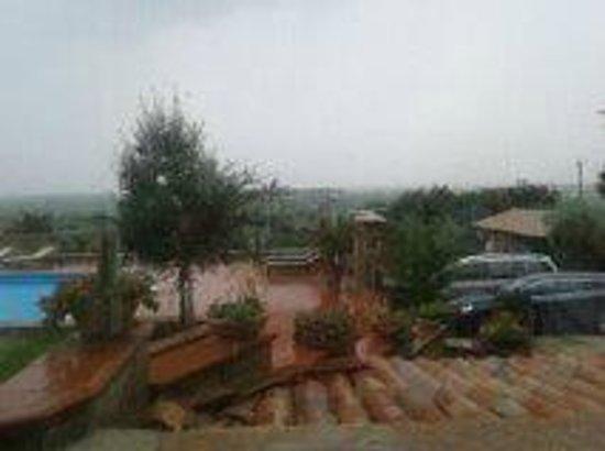 Casale Giancesare : bello anche sotto la pioggia