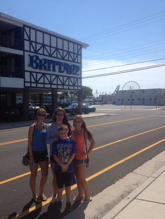 Brittany Motel: The only motel we would EVER stay at in Wildwood, NJ