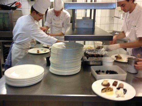 Vieux Sinzig: Der Blick in die Küche steht für Offenheit und Ehrlichkeit