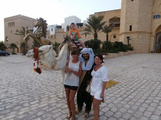 Hotel Safa : Przed wejściem do Mediny