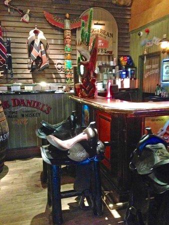 Smith & Western Tunbridge Wells: Saddles for bar stools
