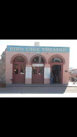 Tombstone Courthouse State Historic Park : Birdcage