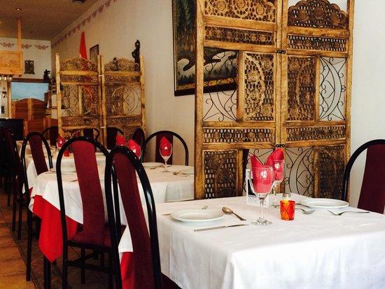Nirvana Restaurant: Table for two!!