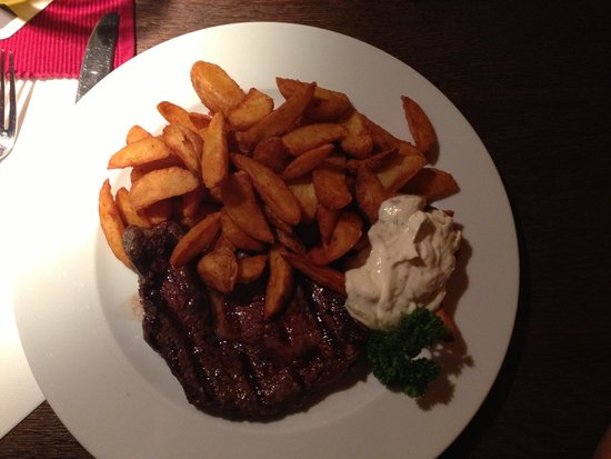 Vinzenz Weinkeller: Vizenz Steak