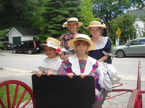 Bala's Museum with Memories of Lucy Maud Montgomery: A wagon ride back to Green gables