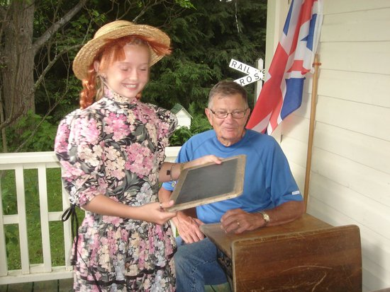 "Bala's Museum with Memories of Lucy Maud Montgomery: Grandpa is ""Gilbert"" to our ""Anne"" at school"