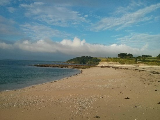 Falmouth Lodge Backpackers : ein mal ums Eck und man ist am Strand