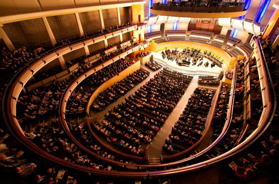winspear seating chart: Enmax hall winspear centre picture of edmonton symphony