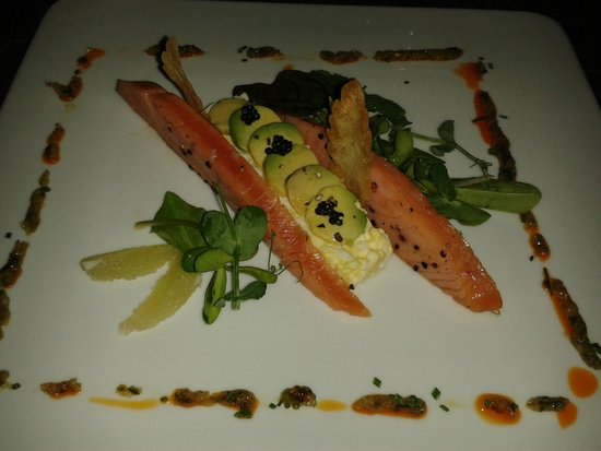 Alize at the Palms: Smoked Salmon