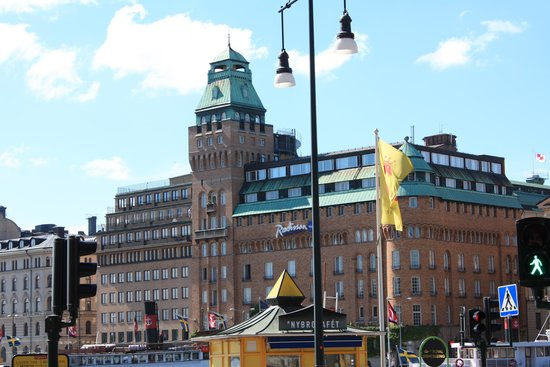Radisson Collection Strand Hotel, Stockholm: Front of Hotel