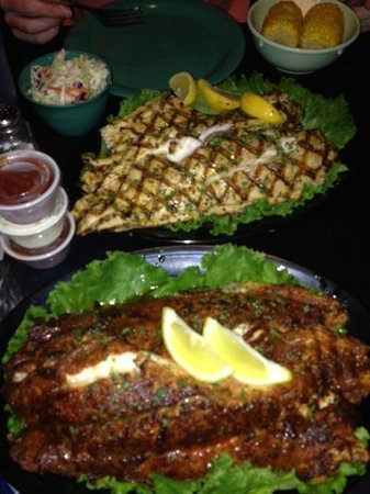 Virginia's On The Bay: Virginia's Cooked our fish. It was great!