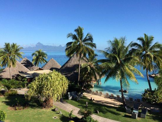 InterContinental Tahiti Resort & Spa : Vu de notre chambre... la 394